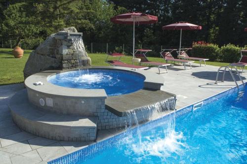 The swimming pool at or near Park Hotel La Pineta