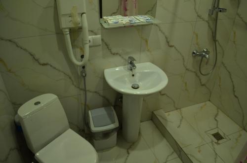 Ванная комната в Мини-Отель Альбатрос