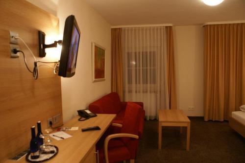 TV/Unterhaltungsangebot in der Unterkunft Haus Hennche