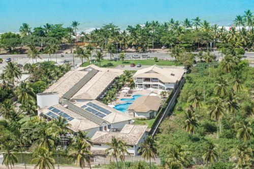 A bird's-eye view of Oceano Praia Hotel