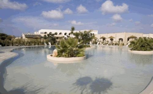 Piscina di Oasi Del Visir Resort o nelle vicinanze