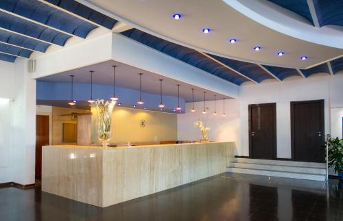 Lobby/Rezeption in der Unterkunft Hotel Galeón