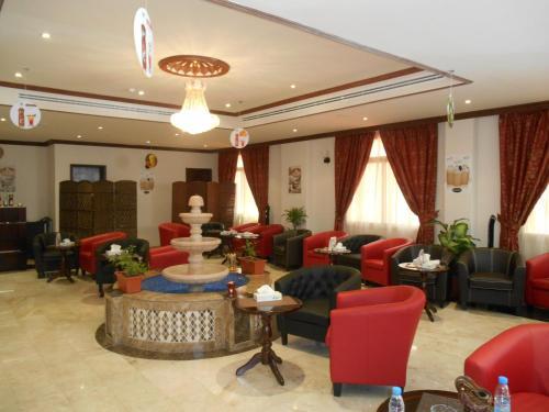 O saguão ou recepção de Samaya Al Khobar Hotel Apartments