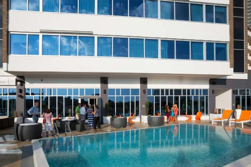The swimming pool at or near Aloft - Tampa Downtown