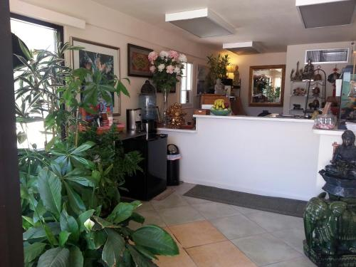 The lobby or reception area at Colusa Riverside Inn