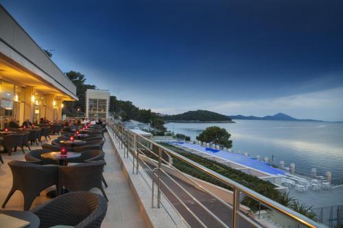 A balcony or terrace at Vitality Hotel Punta