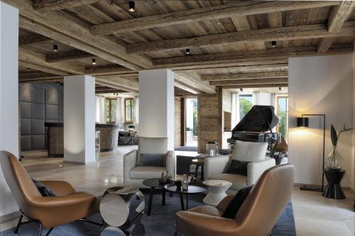 Lounge oder Bar in der Unterkunft Das Tegernsee