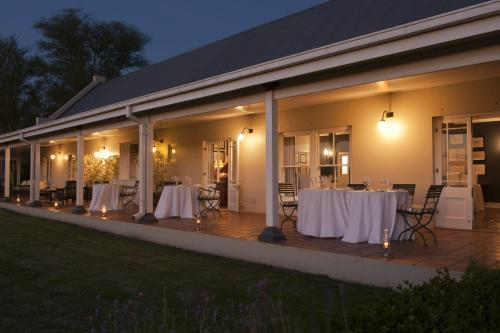 Banquet facilities at the lodge