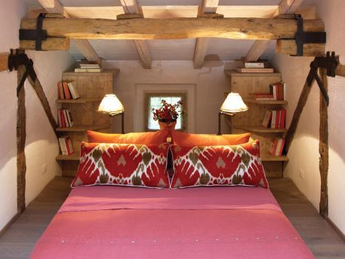 Letto o letti in una camera di Casa Fluò Relais