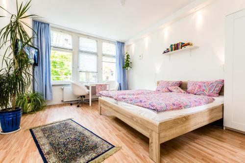 Ein Sitzbereich in der Unterkunft CGN Apartments - Altstadt