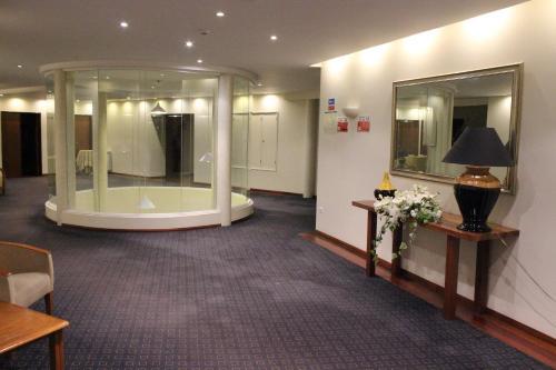 O spa e/ou outras comodidades de bem-estar em Hotel Santa Maria