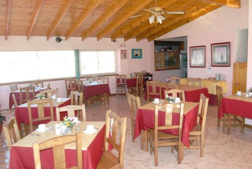 Un restaurant u otro lugar para comer en Hotel Fantilli
