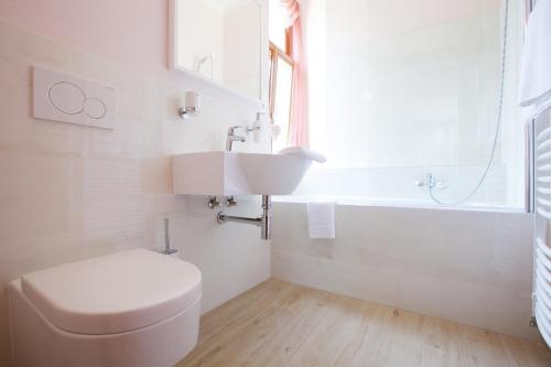 Koupelna v ubytování Wellness Penzion U Muzea
