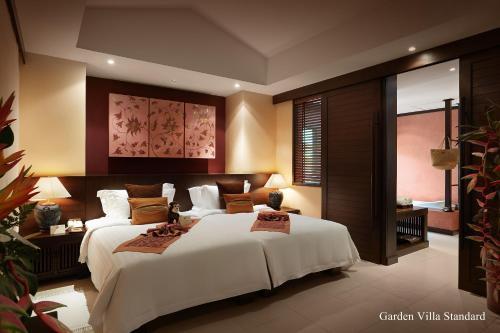 Ein Bett oder Betten in einem Zimmer der Unterkunft Bo Phut Resort and Spa - SHA Plus