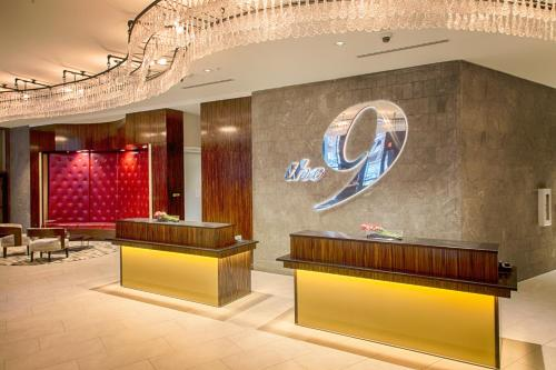 The lobby or reception area at Metropolitan at The 9, Autograph Collection