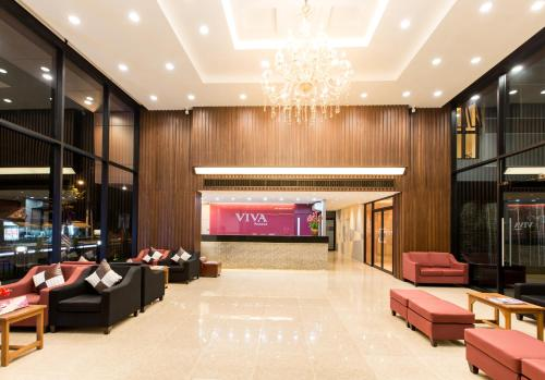 The lobby or reception area at Viva Residence