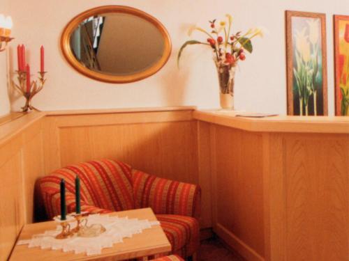 A bathroom at Hotel Garni Angelika