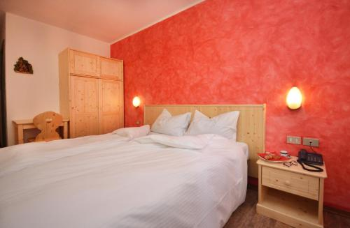 A room at Albergo Sporting