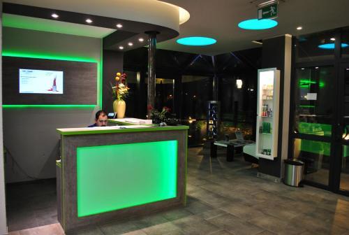 Lounge nebo bar v ubytování Landmark Eco Hotel