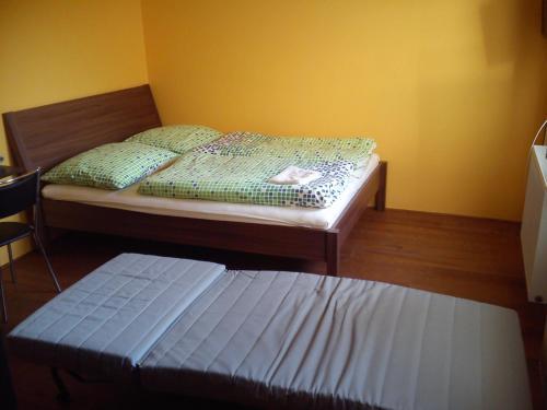Postel nebo postele na pokoji v ubytování Penzion Pitnerka