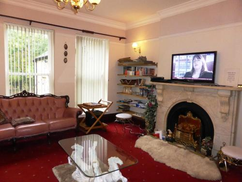 A seating area at Old Vicarage Hotel