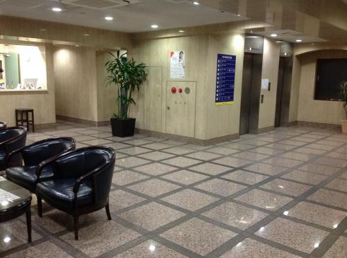 The lobby or reception area at Smile Hotel Nihombashi Mitsukoshimae