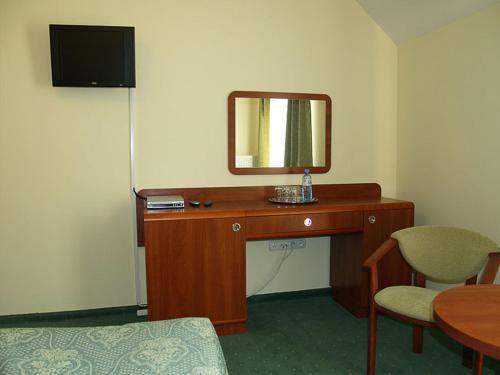 Telewizja i/lub zestaw kina domowego w obiekcie Rancho Tenisowe
