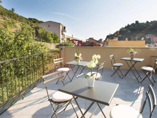 A balcony or terrace at La Casa di Zuecca