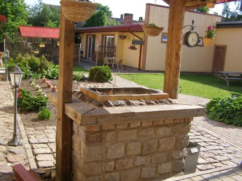 A garden outside Robežu Nams