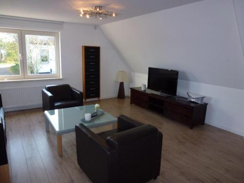 A television and/or entertainment center at Schiphol Apartments