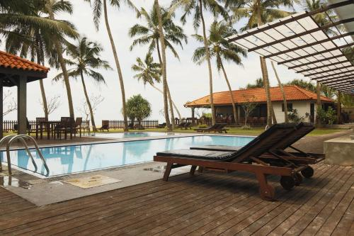 The swimming pool at or near Blue Beach Hotel