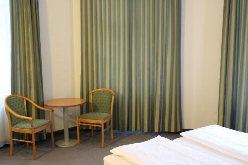 Гостиная зона в Hotel Kolbeck am Columbusplatz