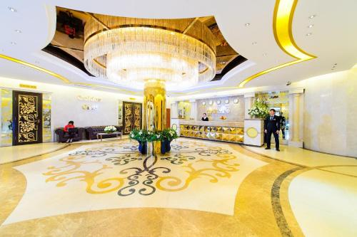 El vestíbulo o zona de recepción de O Azamat