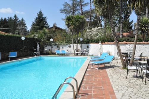 The swimming pool at or near Villa Artemis