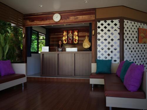 Lobby/Rezeption in der Unterkunft Kathalee Beach Resort & Spa