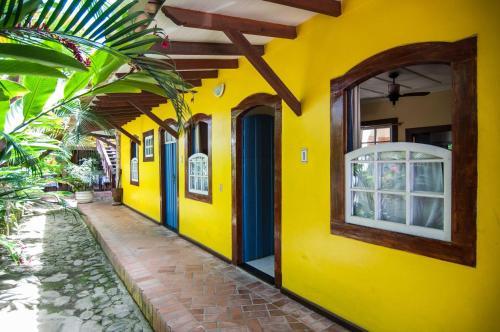 A fachada ou entrada em Pousada Konquista