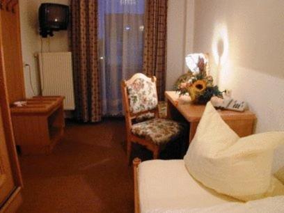 Ein Sitzbereich in der Unterkunft Hotel Restaurant Hassia