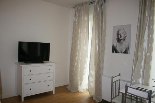 TV o dispositivi per l'intrattenimento presso Apartment Marilyn