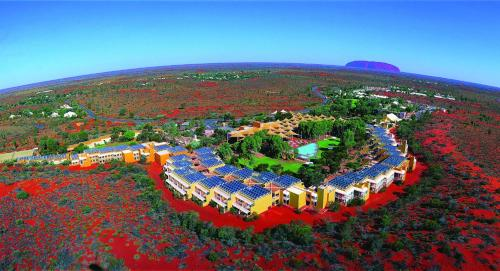 A bird's-eye view of Outback Pioneer Hotel