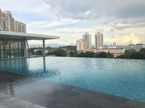 The swimming pool at or close to The Signature Hotel & Serviced Suites Kuala Lumpur
