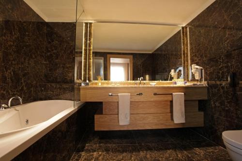 A bathroom at WOW Istanbul Hotel