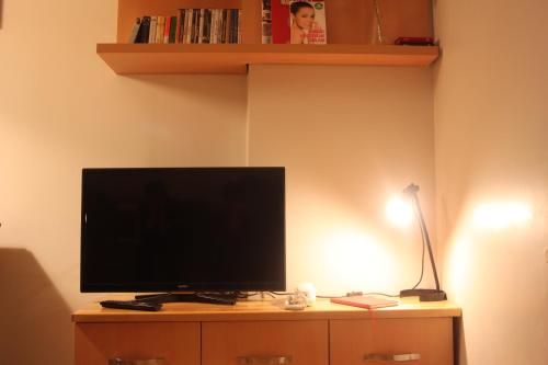 A television and/or entertainment center at TownHouse Istanbul