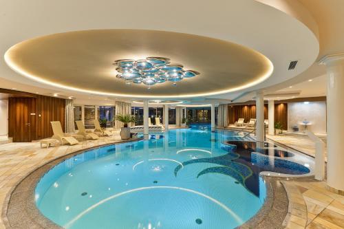 The swimming pool at or near Hotel Trofana Royal