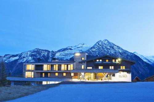 Alpengasthof Filzstein v zimě
