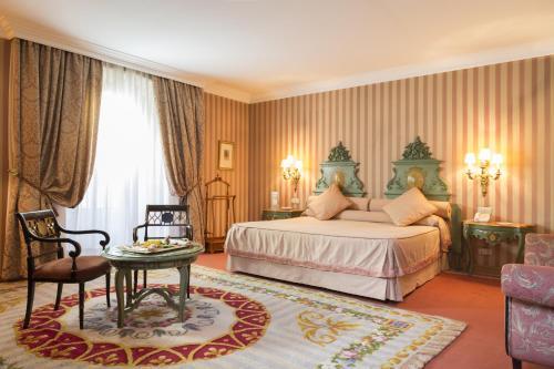 Cama o camas de una habitación en Eurostars Hotel de la Reconquista