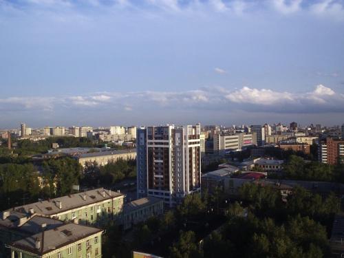 Apartments at Krasniy Prospekt 3 с высоты птичьего полета