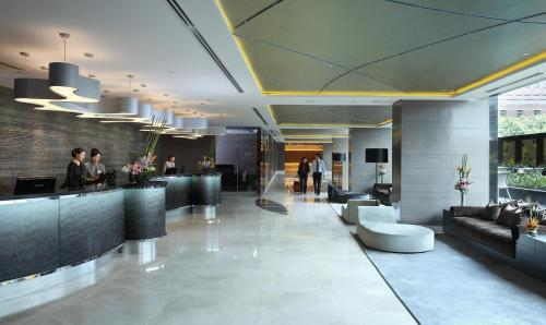 The lobby or reception area at Grand Park Orchard (SG Clean)