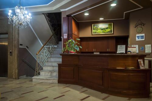 Ο χώρος του λόμπι ή της ρεσεψιόν στο Ξενοδοχείο Μαριάννα