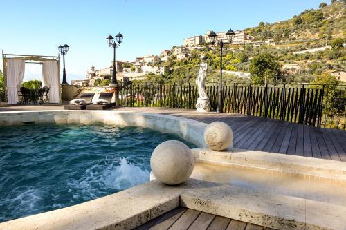 The swimming pool at or near Villa Euchelia Resort