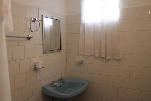 A bathroom at Hostal Cali